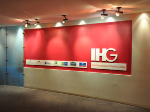 3D Logo | Dimensional Wall Display | Corporate Interior