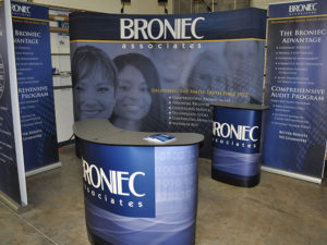 Tradeshow Graphics | Fabric Sublimation
